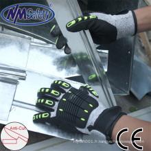 NMSAFETY haute qualité mécanicien gants anti-coupe