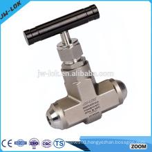 One way water pressure float needle valve
