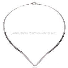 925 серебро ручной работы дизайнер просто прекрасные дамы ожерелье