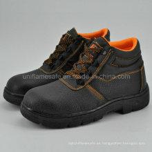 Los hombres de hierro punta del pie de acero barato zapatos de seguridad de trabajo Ufe003