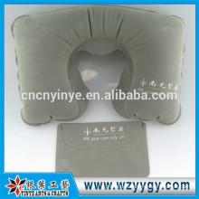 Custom flocked inflatable backrest pillow