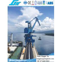 40t32m Rack Luffing Hydraulic Electric Portal Crane