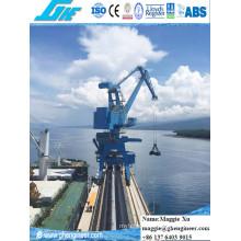 40t32m Rack Luffing Hidráulica Electric Portal Crane