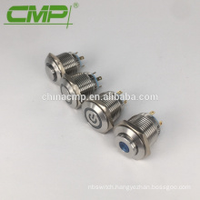 16mm Momentary SPST Push Button Switch With Light