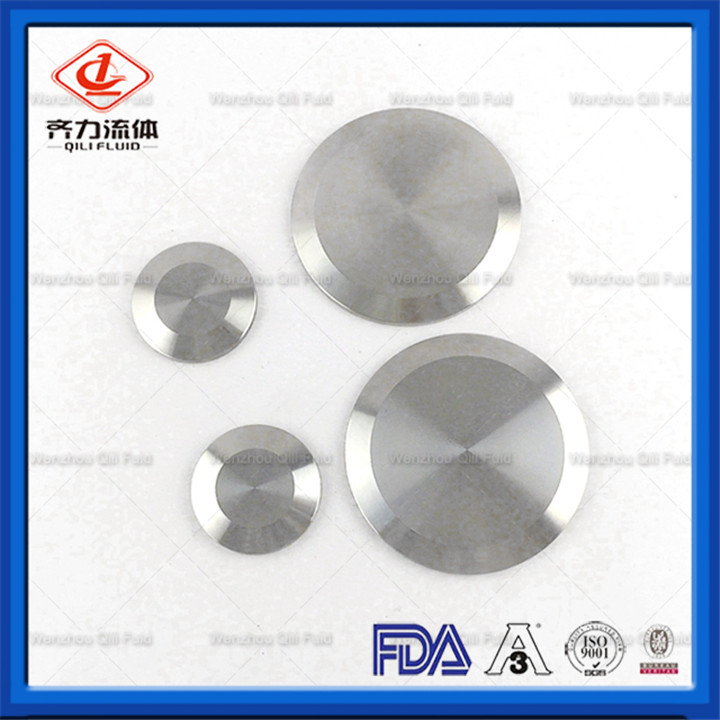Sanitary+KF+Blank+Flange+Vacuum+Components