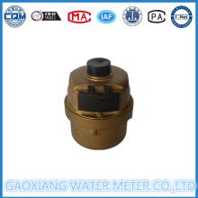 Copper Shell Volumetric Piston Medidor de agua Dn15-Dn25