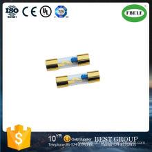 Fusíveis de tubo de vidro automotivo com lâmpada indicadora