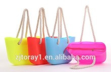 2015 Fashion Silicone Shopping Bag For Wholesale