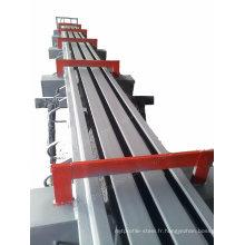 Joint de dilatation en caoutchouc stratifié pour la construction de ponts