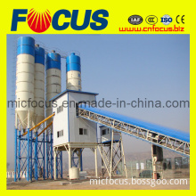 Construction Equipment! 75m3/H Stationary Concrete Batching Line with Hoist Bucket