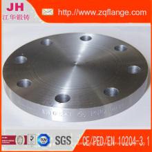 Aço carbono Flange cega de DIN 2527 Pn10
