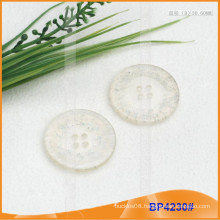 Transparent Resin Polyester Coat Button BP4230