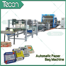 Bolsa de papel selladora automática que hace la máquina