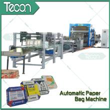 Machine de fabrication automatique de sacs de papier d'étanchéité