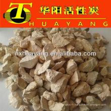 Chaudière de l'eau adoucir les granules de zéolite