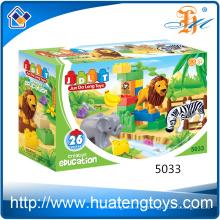 Los nuevos juguetes educativos grandes de los bloques huecos plásticos ABS del ABS de los niños