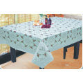 Table Linens With Lace Edge 140 x 180cm