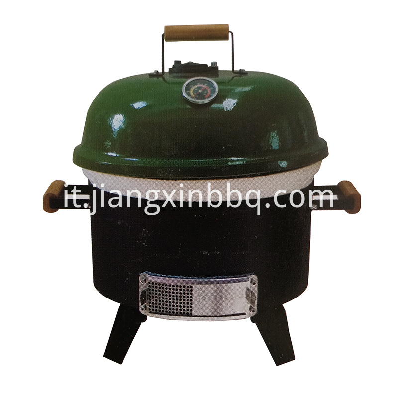 18 Inch Tabletop Kamado Grill