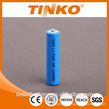 Lithium Li-FeS2&LF-AAA battery