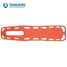 Equipo médico SKB2A01 que mueve la estera plástica del tablero de la espina dorsal del paciente