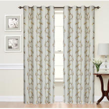 100% Polyester Jacquard Blackout Curtain Panel
