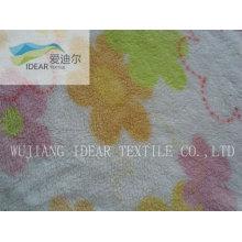 Полиэфирных печатных полотенце махровая ткань 004