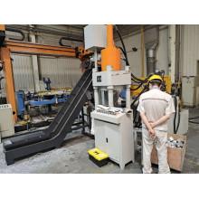 Máquina para fabricar briquetas de disco de corte de aluminio hidráulico