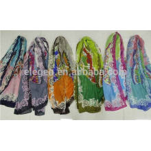In Stock Polyester Butterfly Printed Scarf