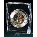 Reloj de cristal simple reloj de cristal decoración reloj