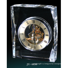 Простой Кристалл Настольные Часы Стекла Украшения Часов