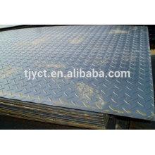 Q345B plaque d'acier à carreaux en alliage
