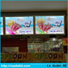 LED Slim Acryl Posterrahmen Board