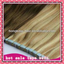trame de bande de cheveux humains pour l'extension, pas cher, prix de gros
