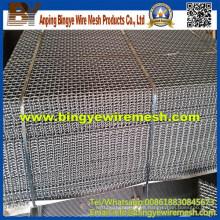 Venta caliente 304 de malla de alambre prensado (fábrica profesional)
