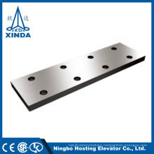 Lift Elevator Components Hollow FishplateTable Saw Guide Rail