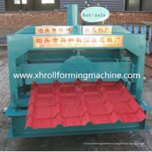 Профилегибочная машина для производства листовой глазурованной стали