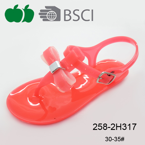 new style colorful girls sandal