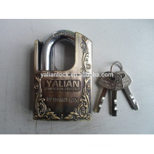 shackle half protected disc custom lock