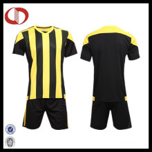 Cheap Custom Sublimation Men Striped Football Shirt Soccer Jersey