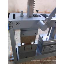 Punzonadoras y cortadoras de perfil de 50 mm de alto perfil