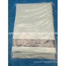 White Color PE Tarpaulin Sheet, Plastic Tarpaulin Supplier, China Tarpaulin Factory