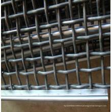 High Manganese Steel Crimped Wire Mesh Triturador de tela vibratória Mesh tela