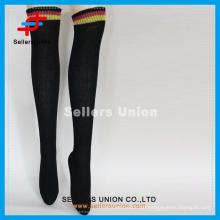 Hot-Selling über Knie Stricken Strumpf