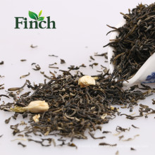 Цена по прейскуранту завода Фуцзянь Жасминовый зеленый чай ЕС Стандарт Жасмин аромат зеленый чай