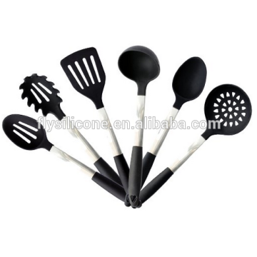Lagered Eco-Friendly Feature Silikon Utensil Kochset
