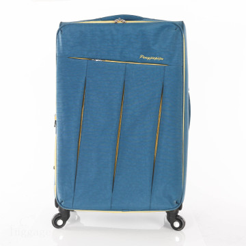 Various color light sky travel trolley luggage bag