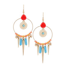 Elegent Flower Long Earring For Lady, Boho Earring