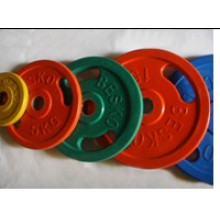 Color Bumper Weight Plate with SGS (USH-302)