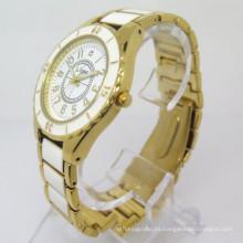 Reloj de la aleación de los hombres reloj de la manera reloj de la venta caliente barato (HL-CD043)
