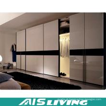 Armário dobro de alto brilho do vestuário do quarto da cor (AIS-W247)